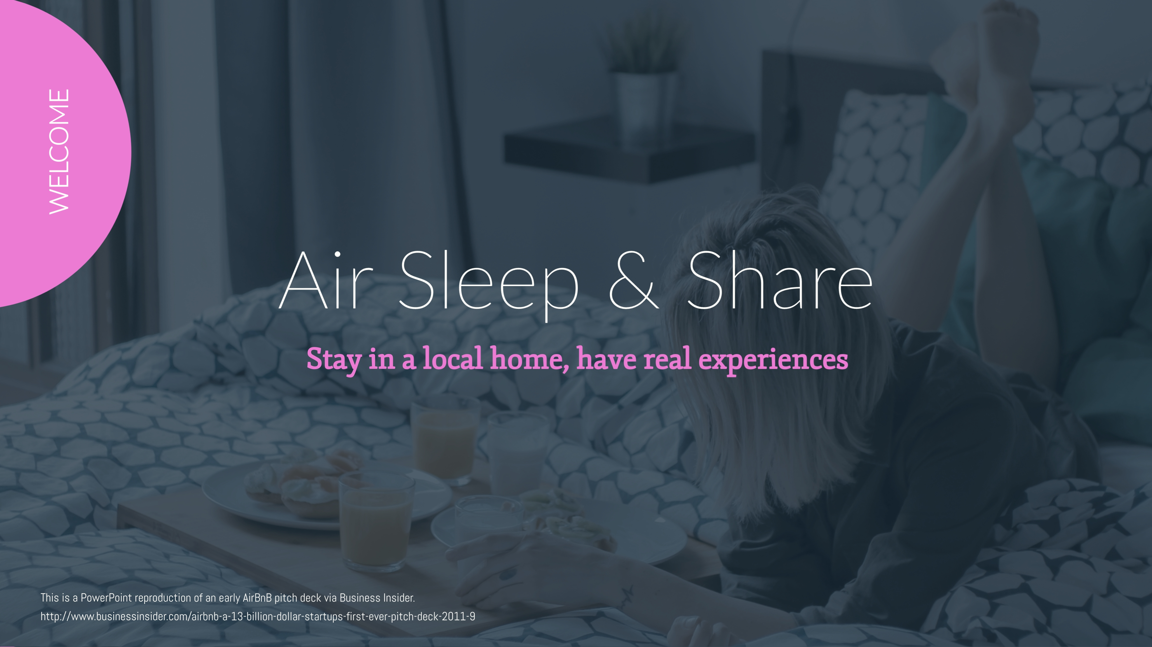 Airsns Pitch Deck - Presentation Template