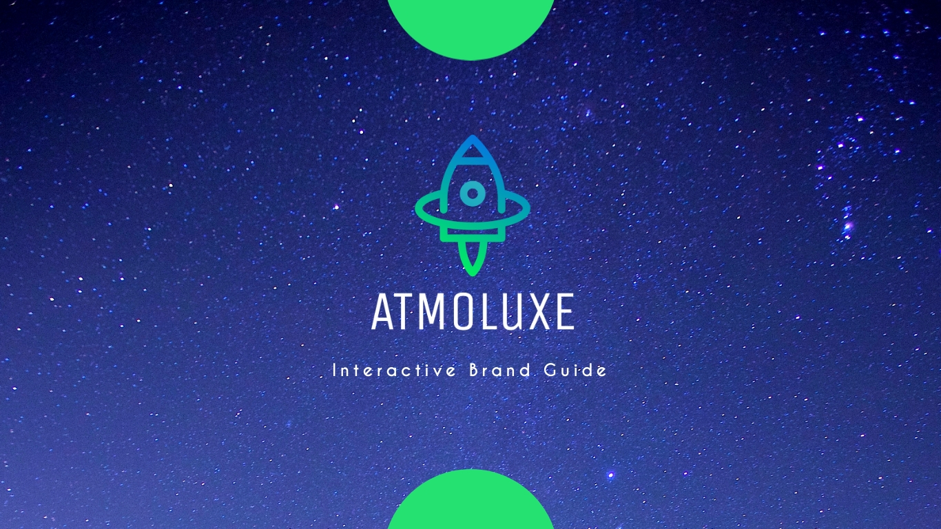 Atmoluxe - Brand Guidelines Presentation Template