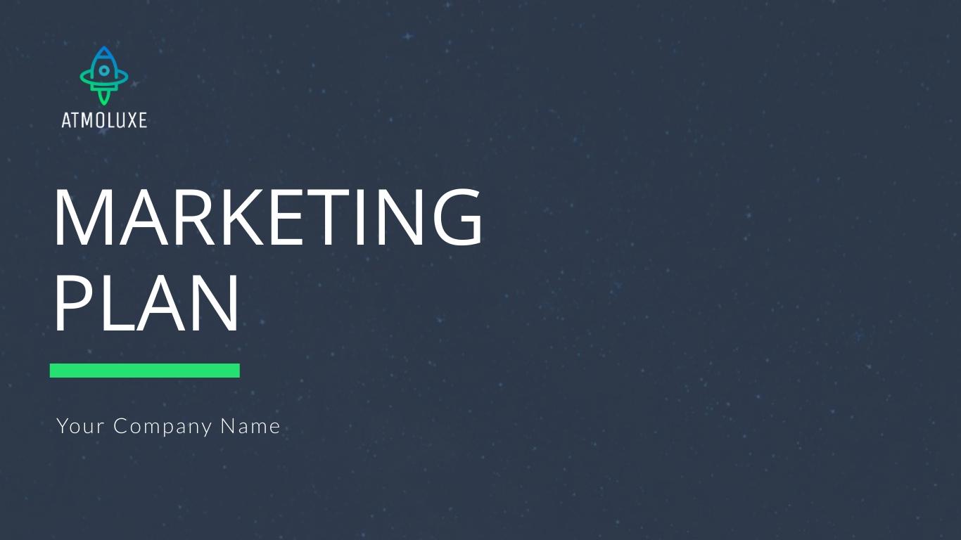 Atmoluxe Marketing Plan - Presentation Template