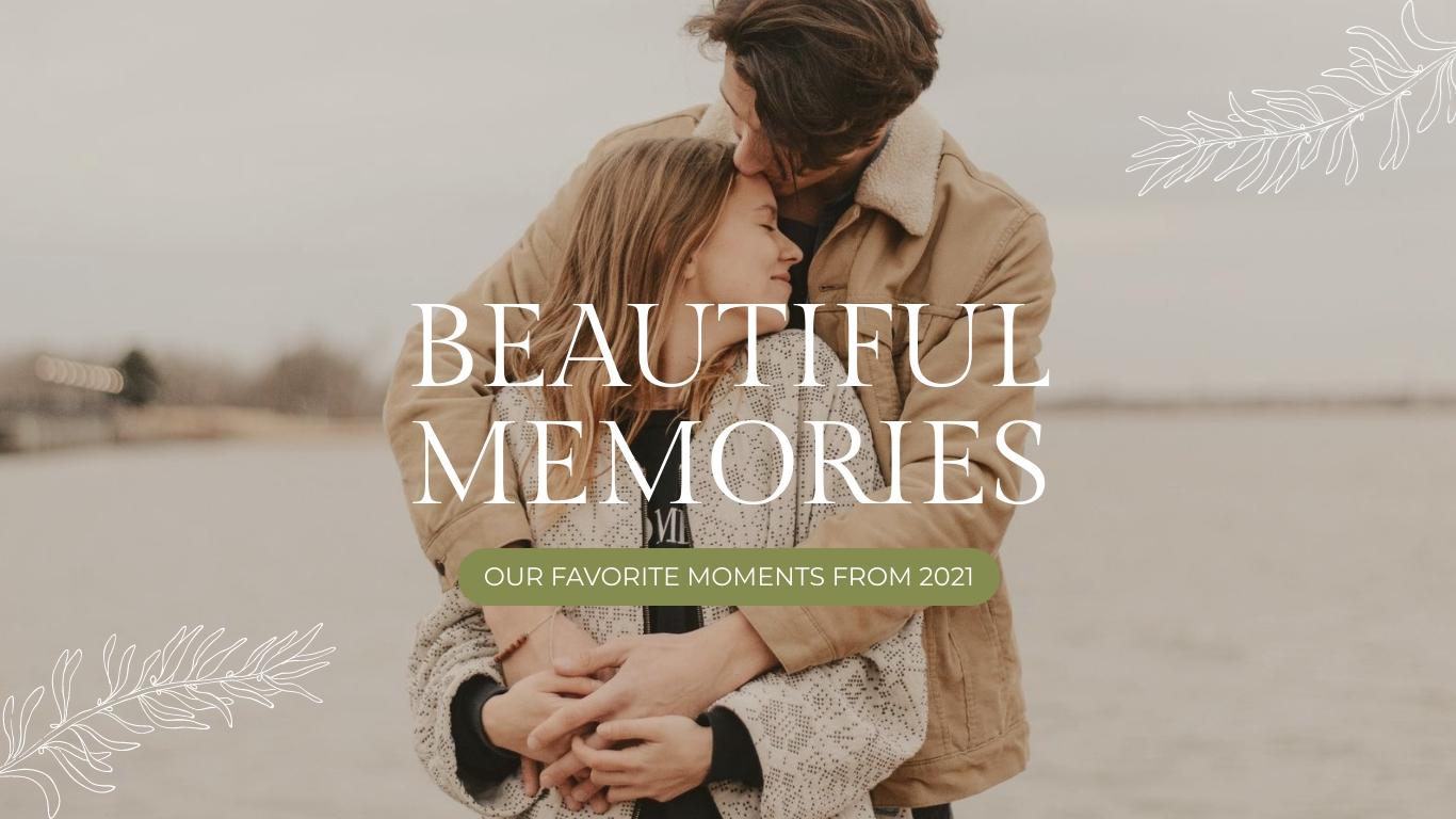 Beautiful Memories Slideshow Presentation Template