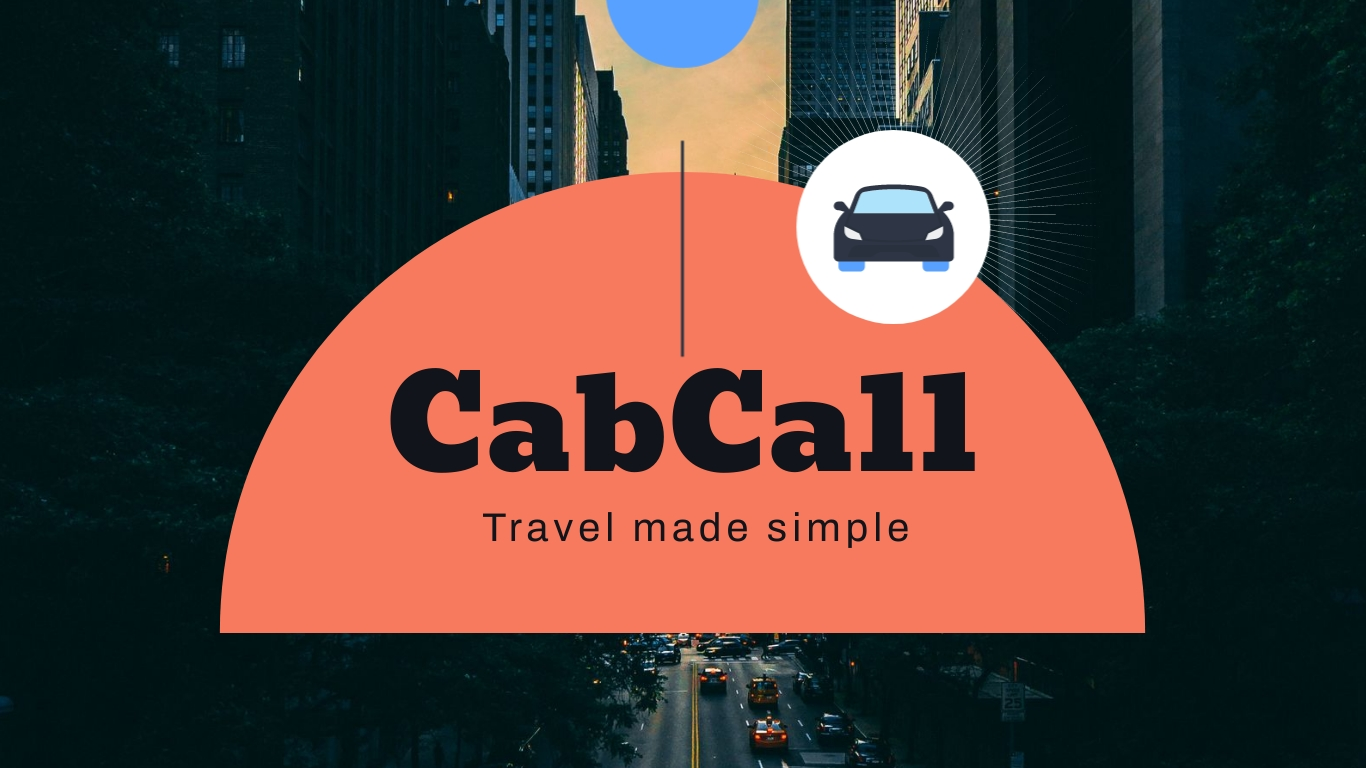 CabCall Pitch Deck Presentation Template