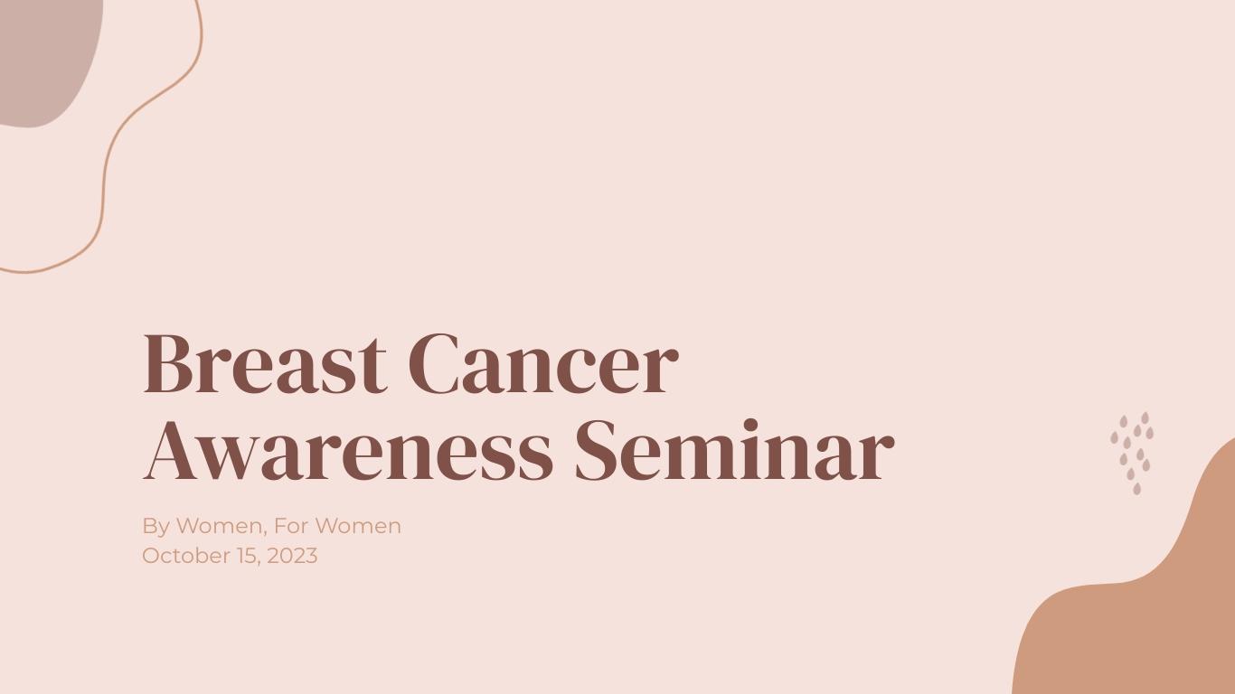 Cancer Awareness Presentation  Template
