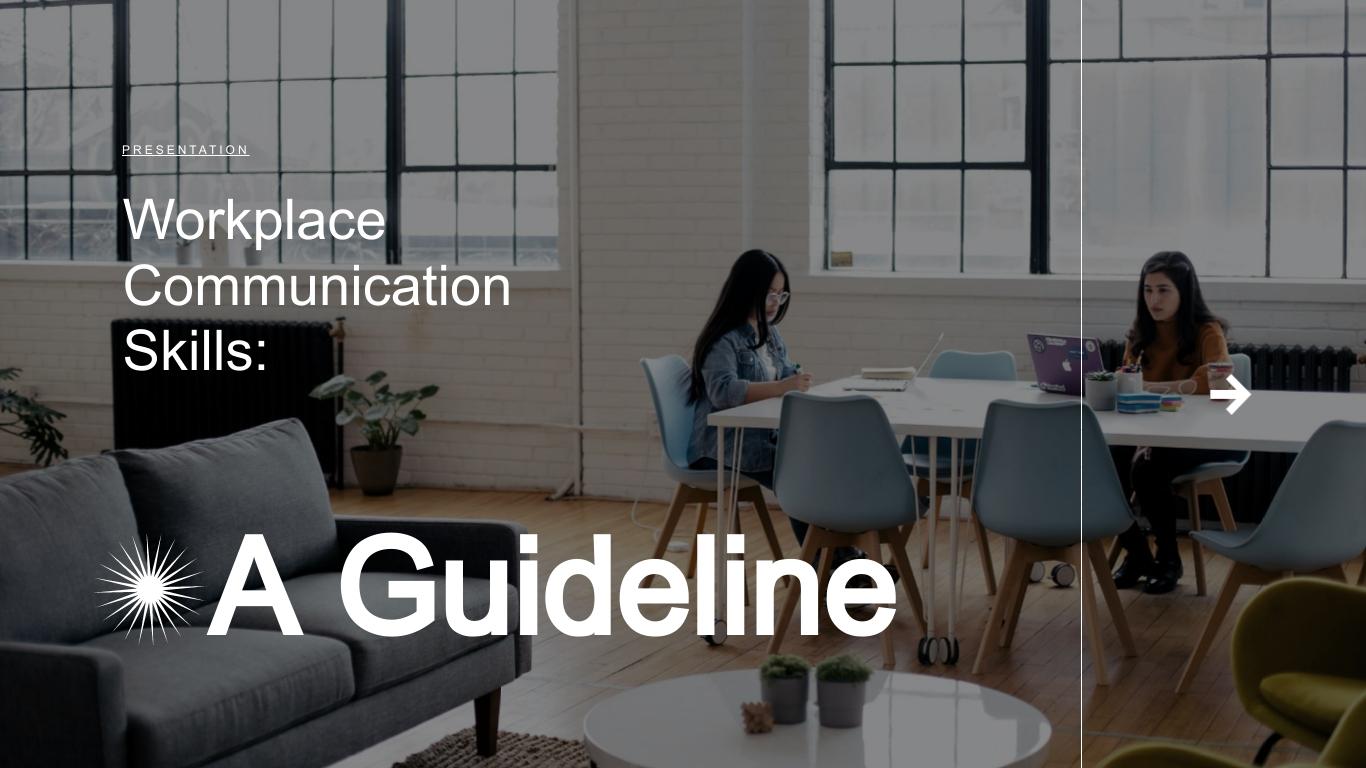Communication Skills - Keynote Presentation Template