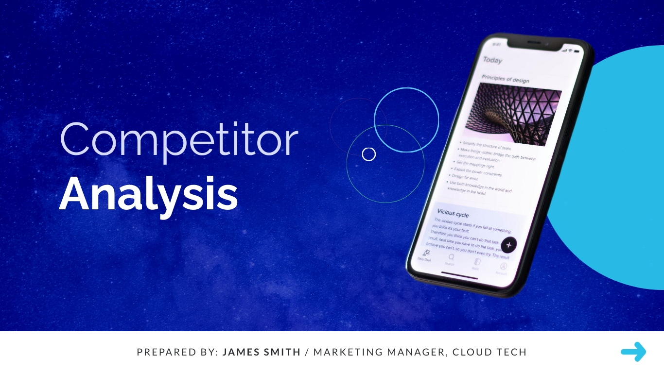 Competitor Analysis - Interactive Presentation Template