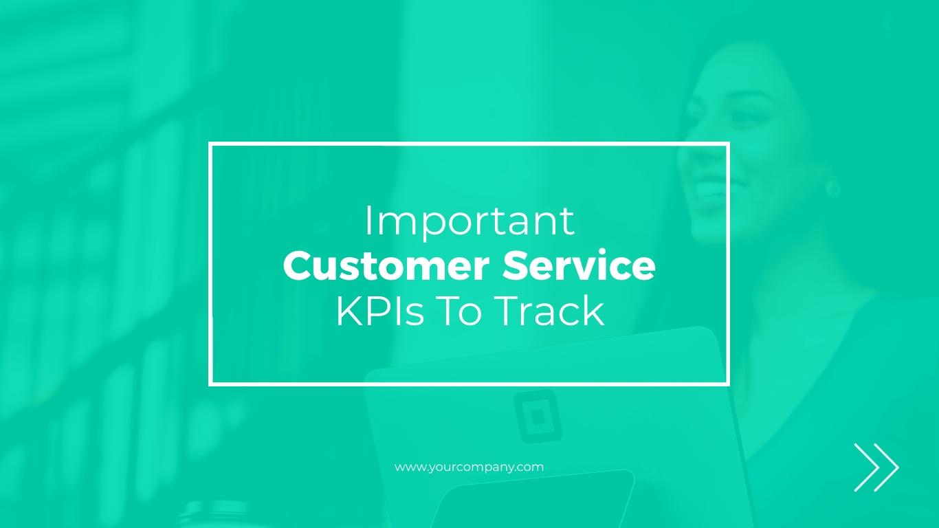 Customer Service Interactive Presentation  Template