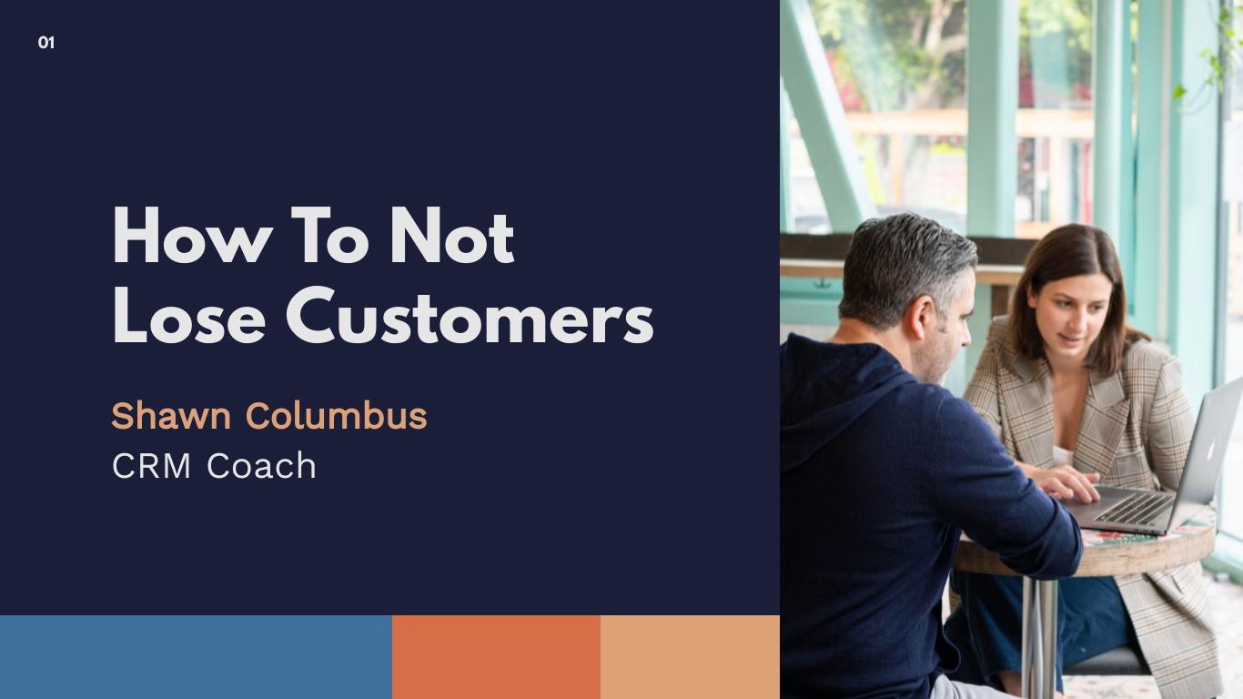 Customer Service Keynote Presentation  Template