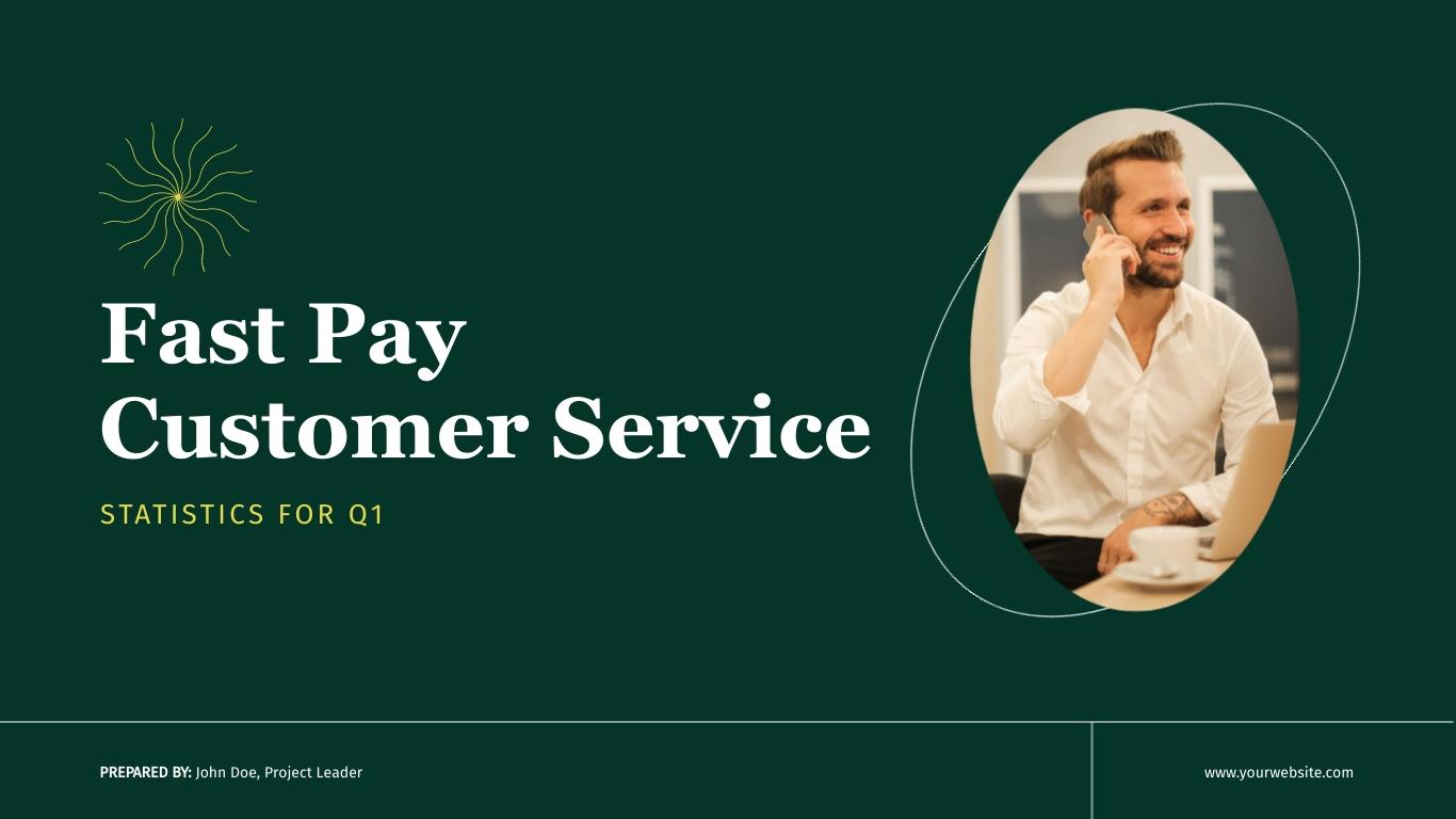 Customer Service Presentation Template