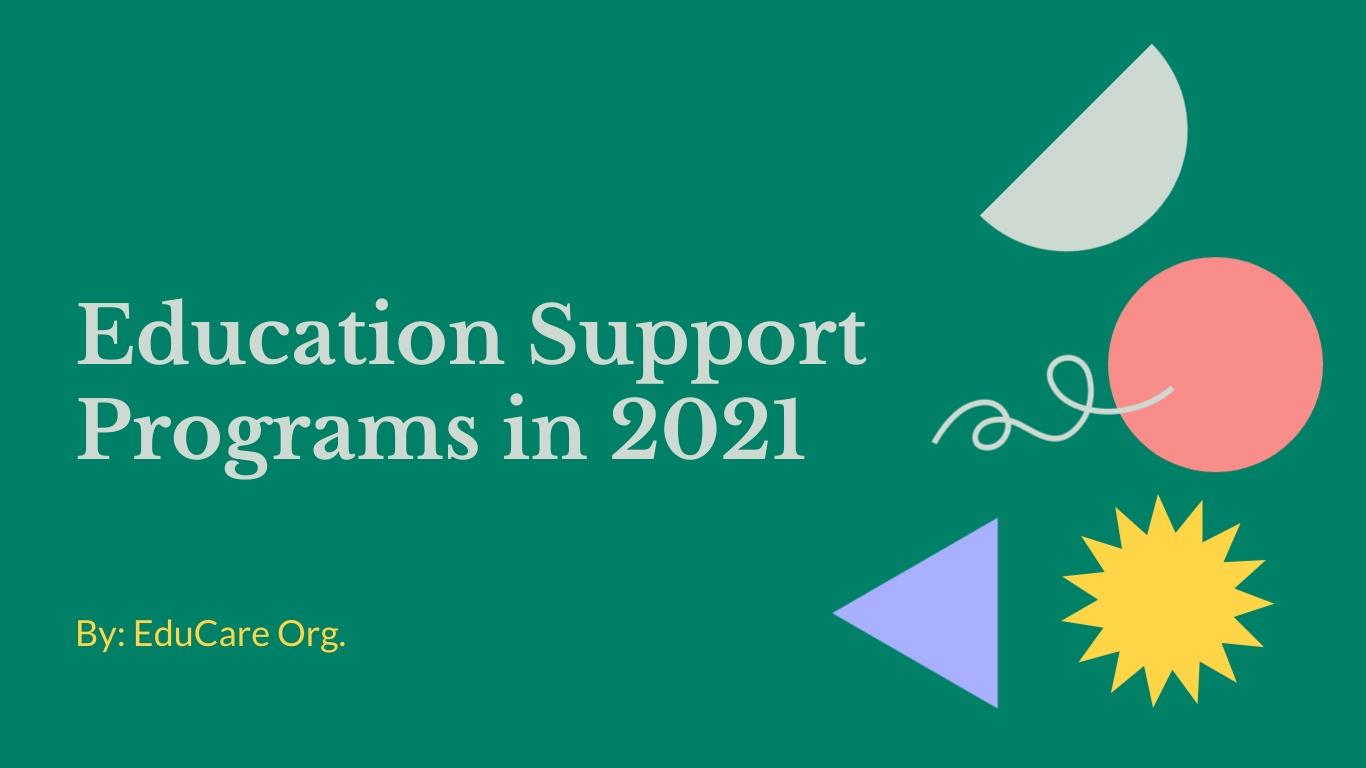 Education Support Program Presentation  Template