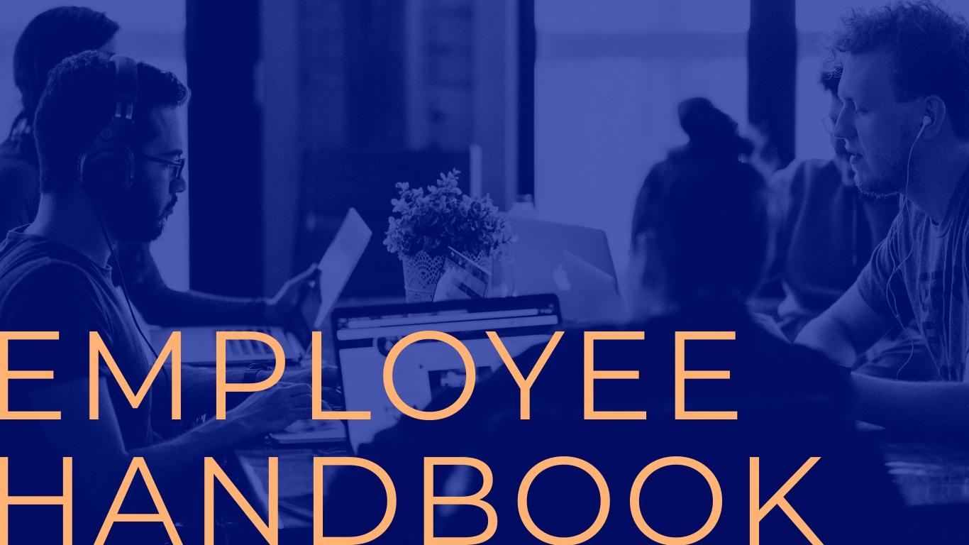 Employee Handbook - Interactive Presentation Template