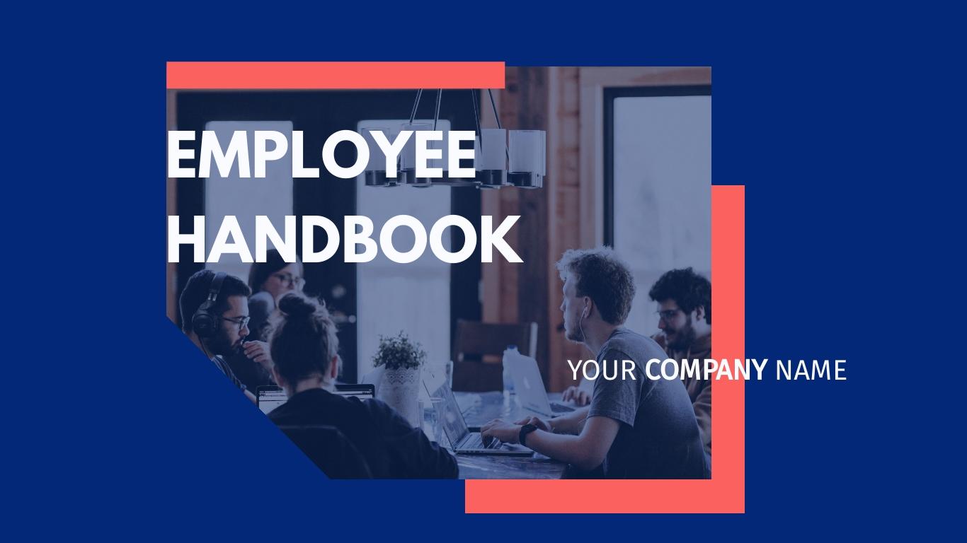 Employee Handbook Presentation Template