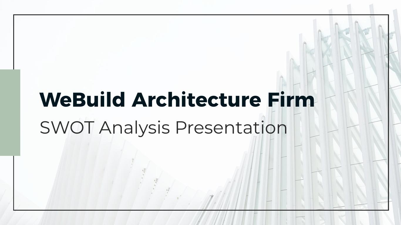 Engineering SWOT Analysis - Presentation Template