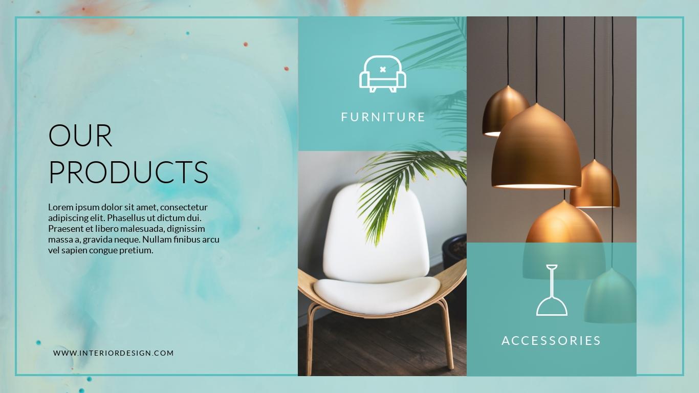 Interior Design Company - Presentation Template