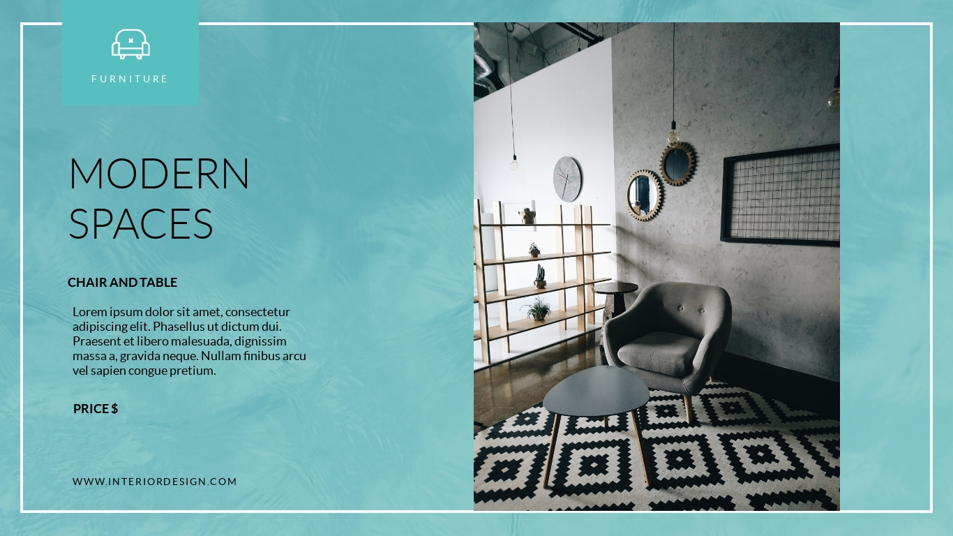 Interior Design Company Presentation Template Visme
