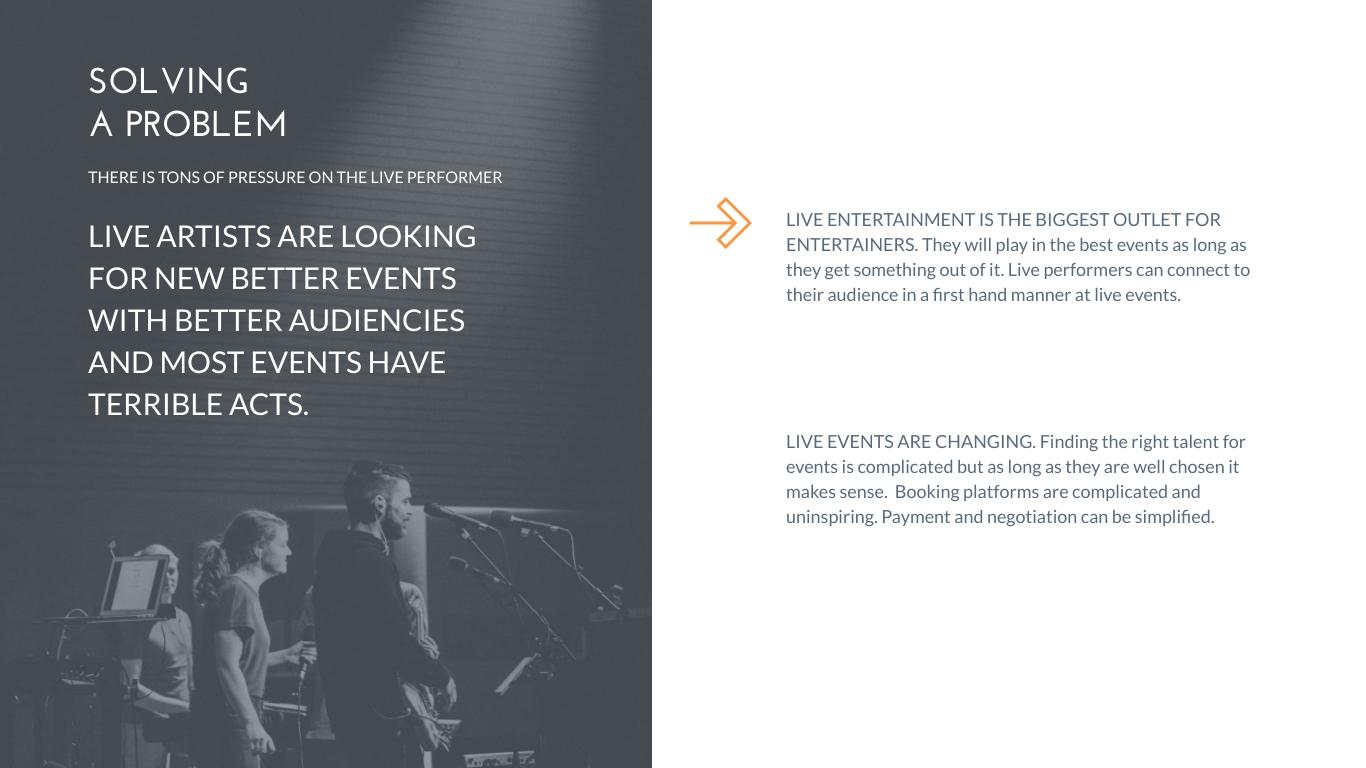 Lete Events Pitch Deck Presentation Template Visme
