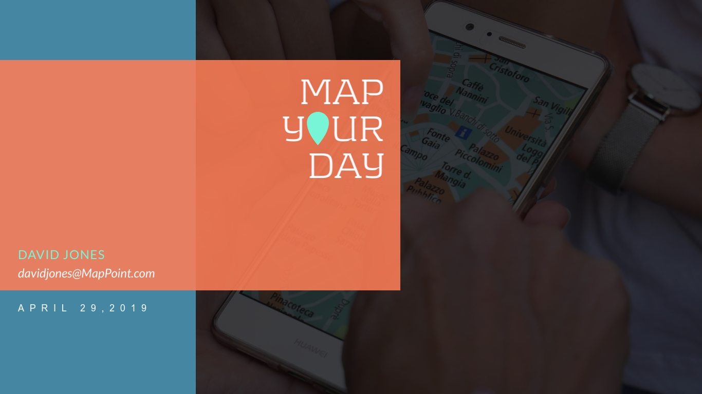 MapYourDay Pitch Deck - Presentation Template