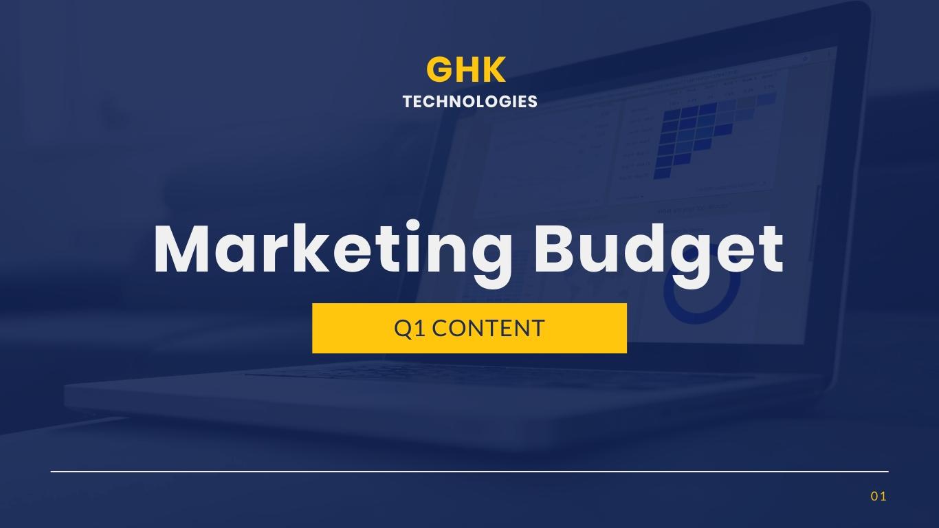 Marketing Budget Presentation Template