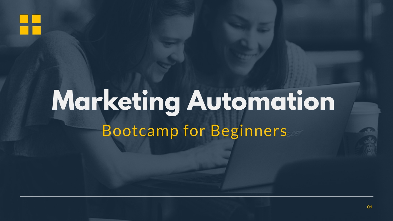 Marketing Campaign Webinar Presentation Template