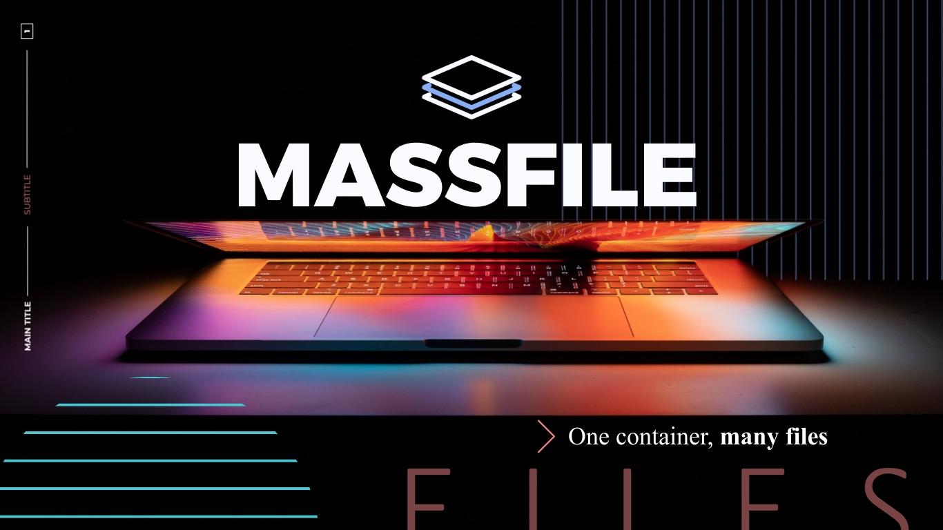 Massfile Pitch Deck Presentation Template