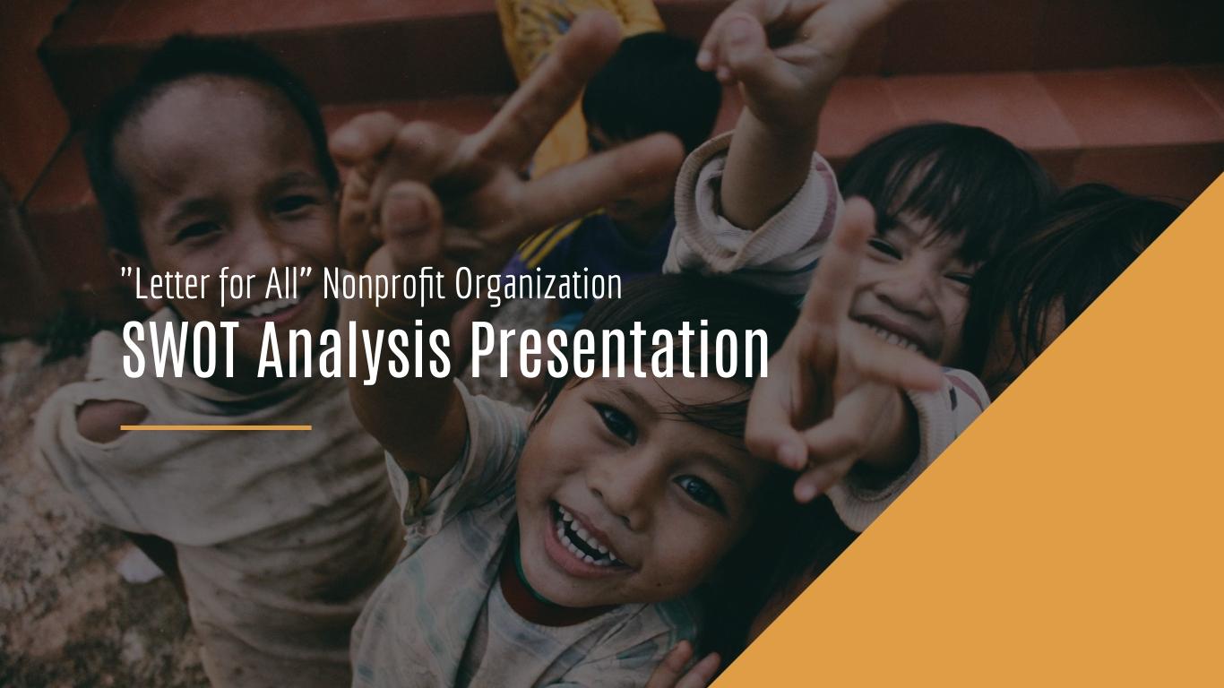 Nonprofit SWOT Analysis - Presentation Template