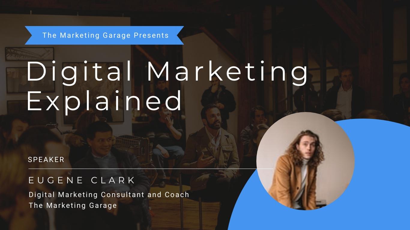 Online Marketing - Webinar Presentation Template