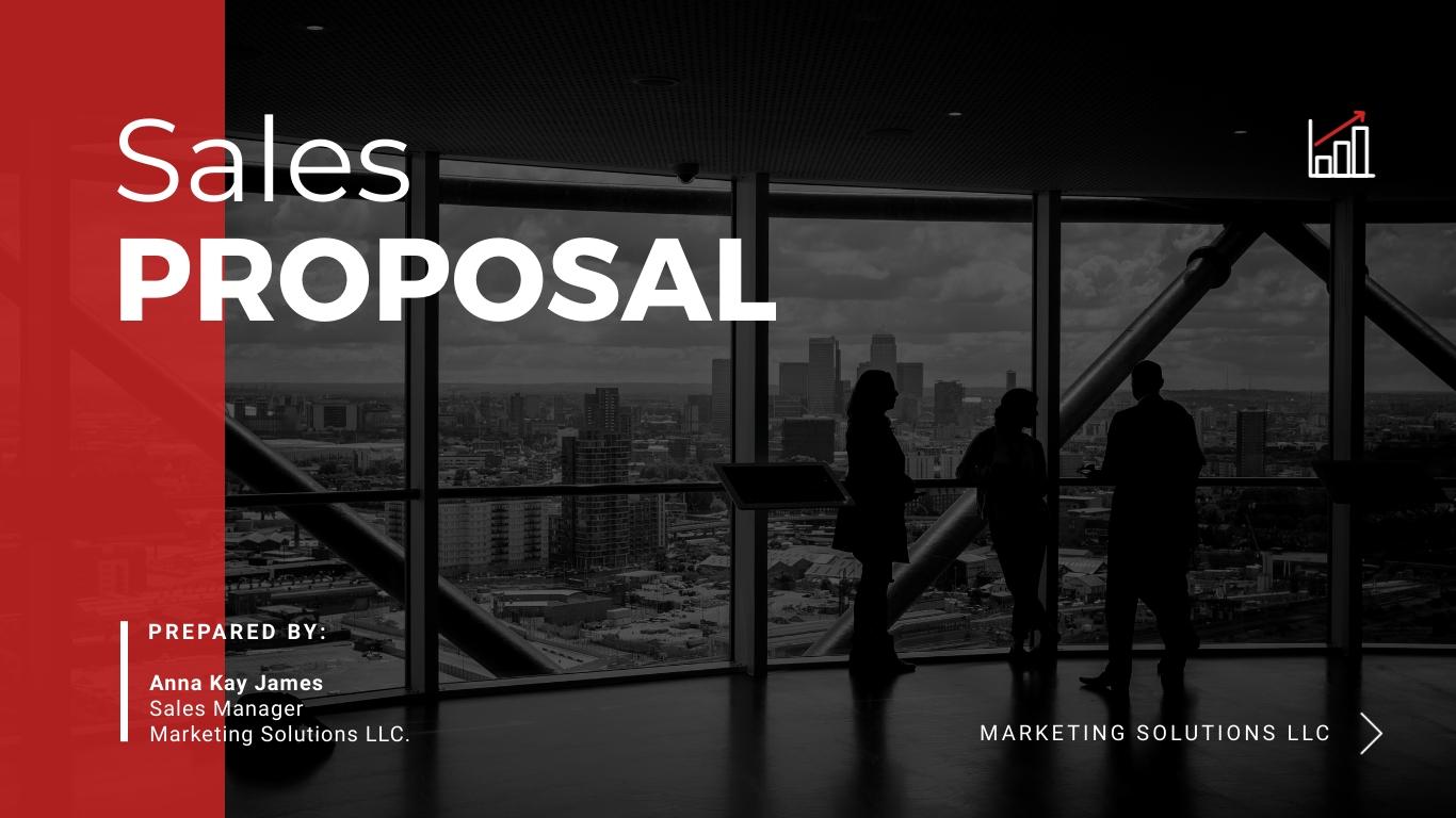 Sales Proposal - Interactive Presentation Template