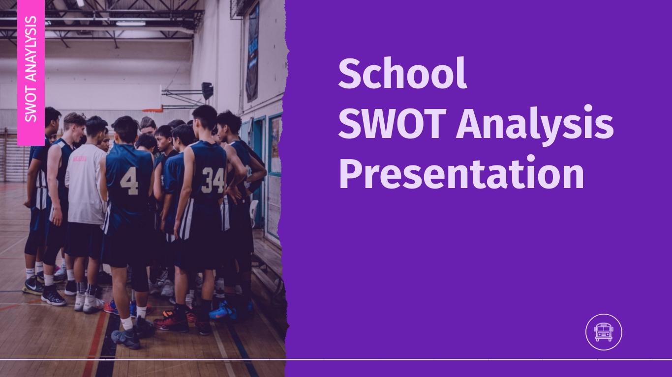 School SWOT Analysis - Presentation Template