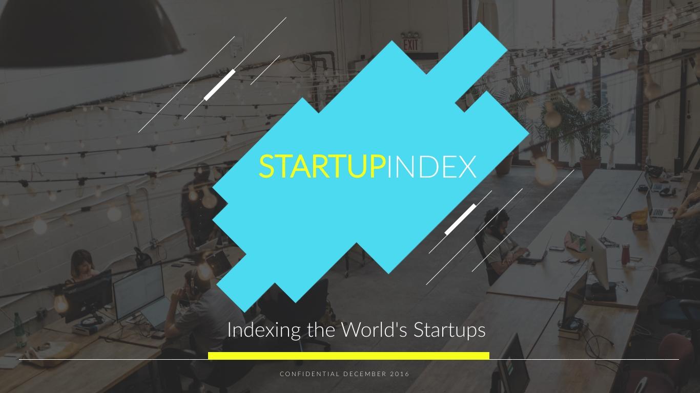 Startup Index Pitch Deck - Presentation Template