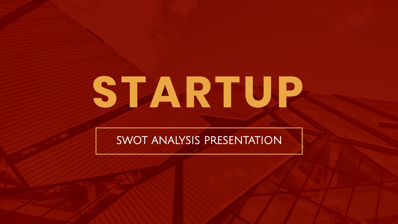 Startup SWOT Analysis - Presentation Template