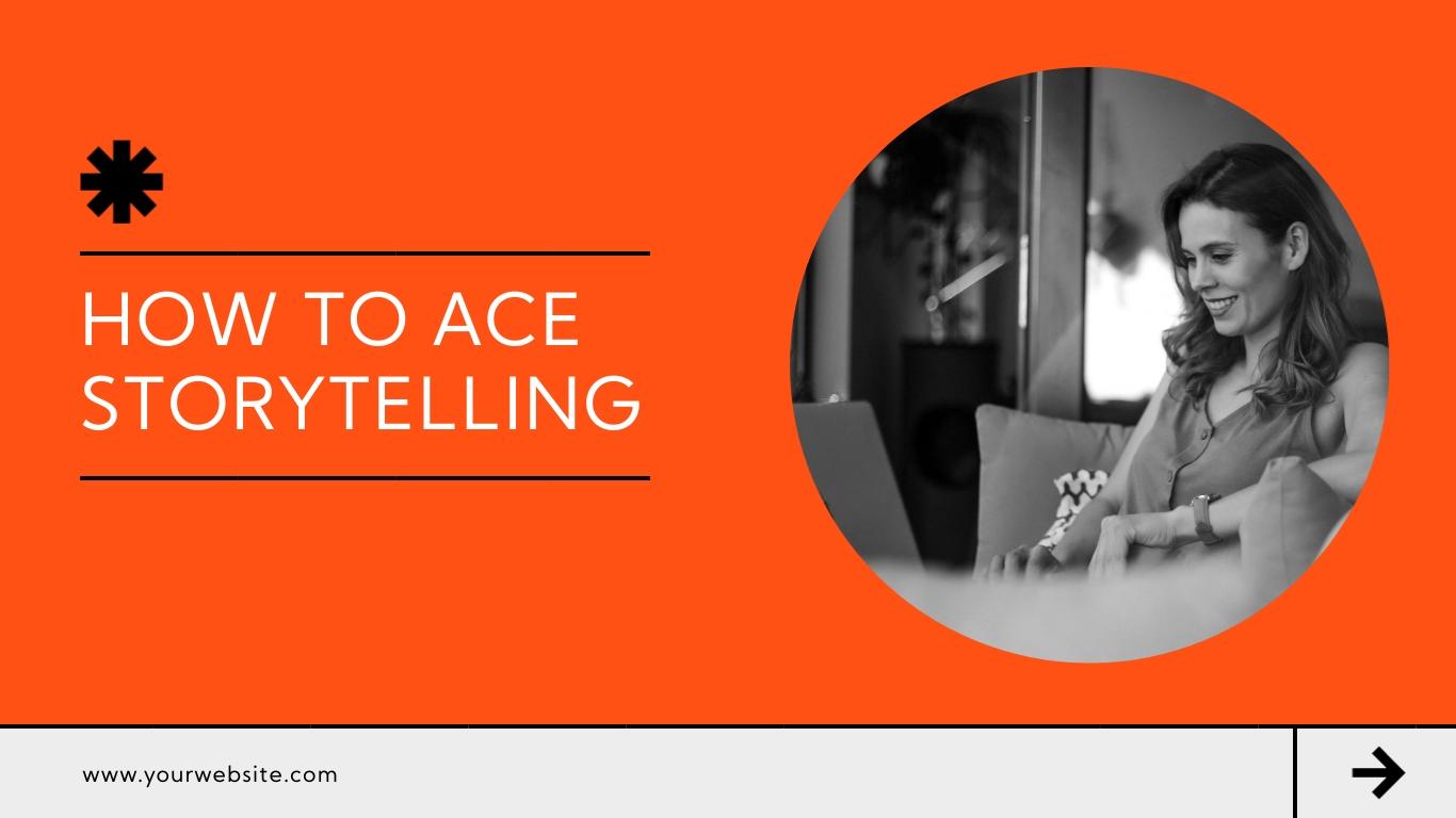 Storytelling Keynote Presentation  Template