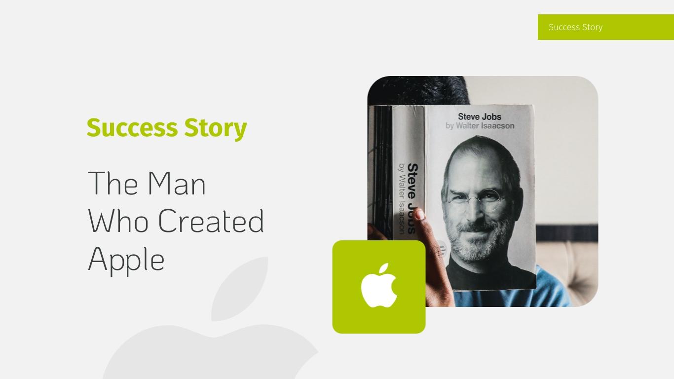 Success Story - Keynote Presentation Template