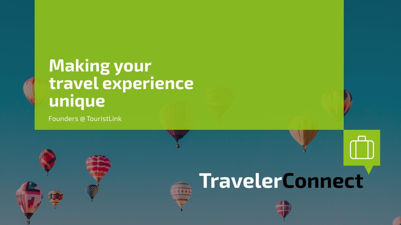 Traveler Connect Pitch Deck - Presentation Template