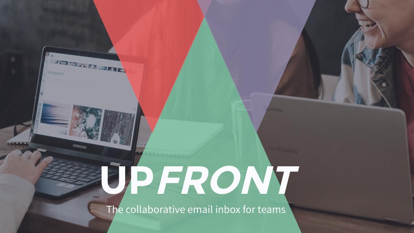 UpFront Pitch Deck - Presentation Template