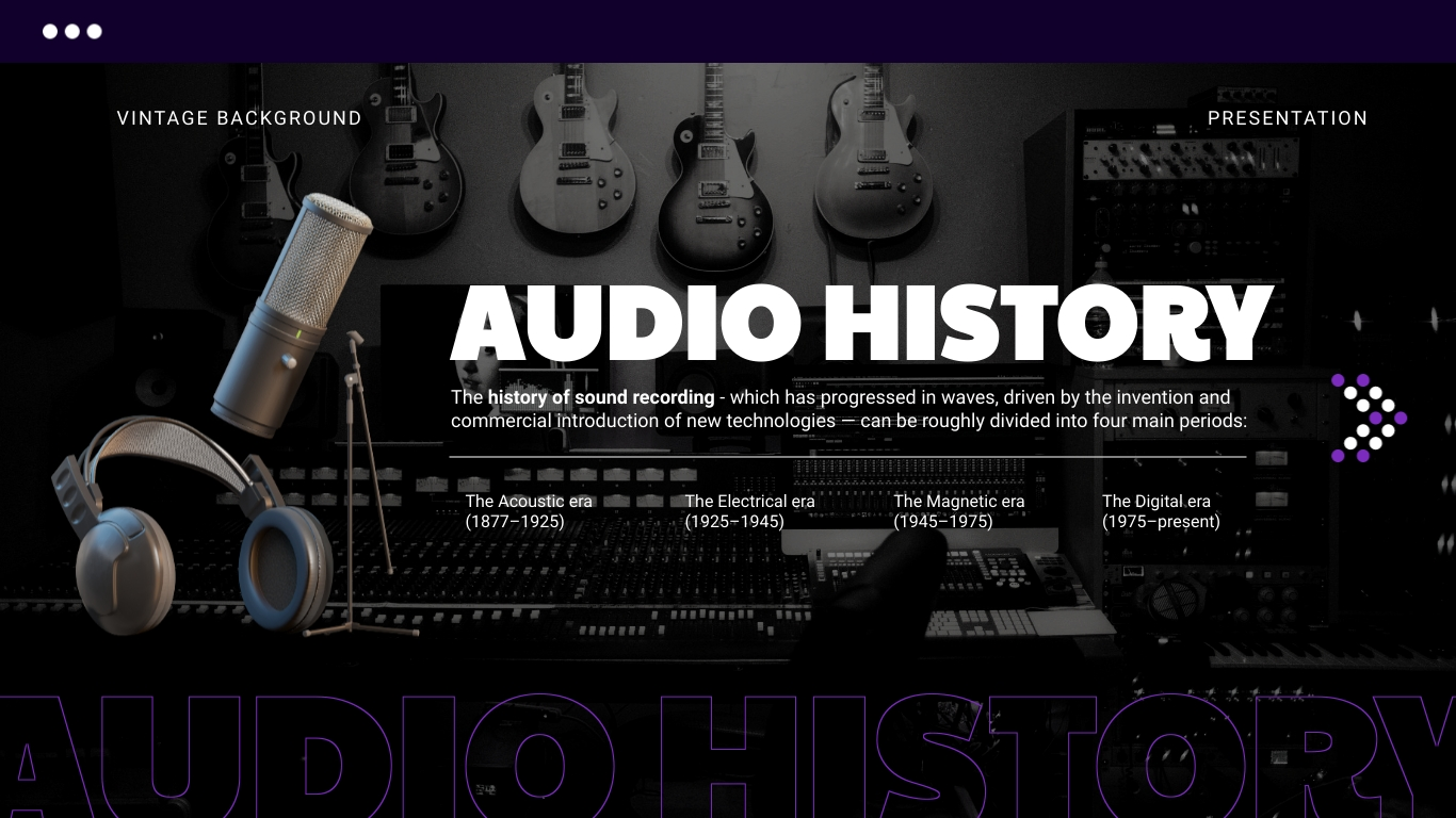 Vintage Background - Presentation Template