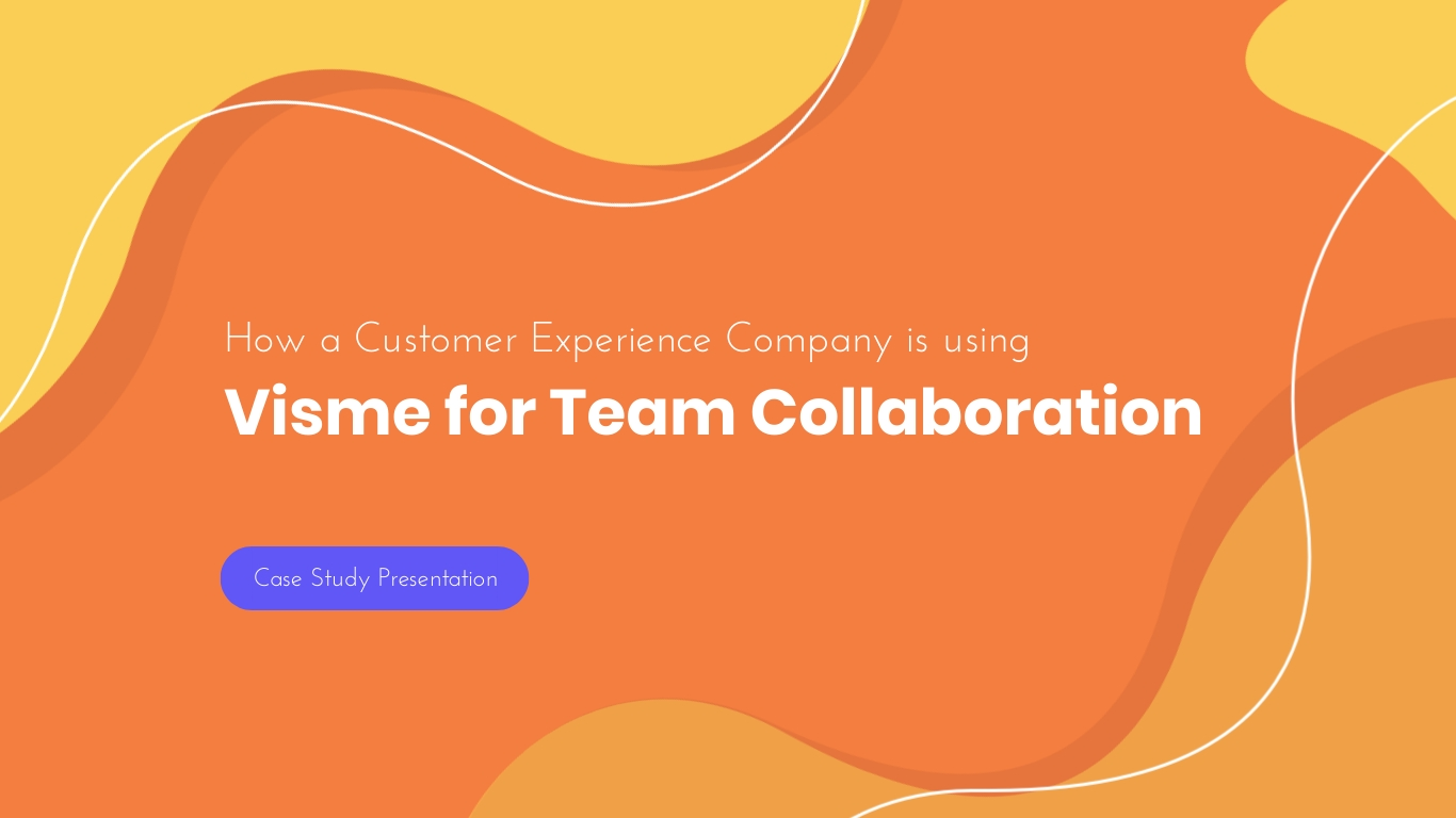 Visme for Team Collaboration - Presentation Template