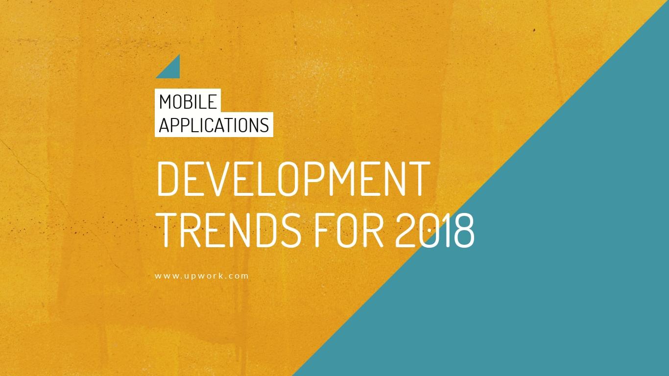 Mobile App Trends - Presentation Template