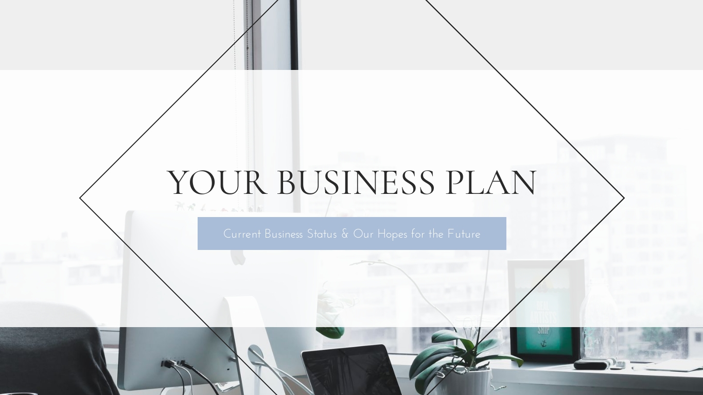 Your Business Plan - Presentation Template